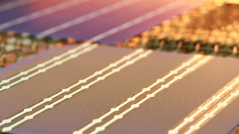 ZEBRA and PERC+ solar cells in burn furnace