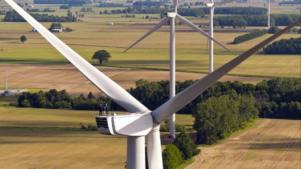 Windparks stellen aktuell den größten Stromanteil aller regenerativen Energien.